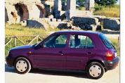 NISSAN Micra 1.3 GX P8 N-CVT (1996-1998)