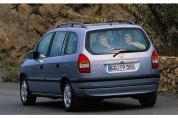 OPEL Zafira 1.8 16V CDX (1999-2000)