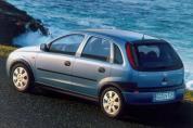 OPEL Corsa 1.2 16V Elegance Easytronic (2000-2003)