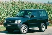 TOYOTA Land Cruiser 3.0 TD KJ 90 (1996-1999)