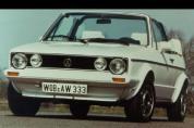 VOLKSWAGEN Golf 1.6 Quartett (1986-1988)