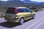 PEUGEOT 206 SW 1.4 HDi Presence (2002-2003)